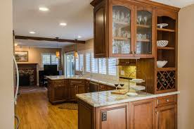 Countertops Backsplash Modular Kitchen Design U Shape Ideas With Cream Brown Colors Wooden Live
