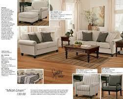 ashley milari sofa and loveseat 1300035 38 red tag mattress