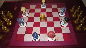 Fate Zero Servant Model Chessboard Set 21 Board Game Simple Play Starting Positions