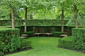 Potomac Garden Center for a Traditional Landscape with a Wood