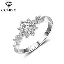 CC Classic Bijouterie Rings For Women Elegant Bridal Wedding Jewelry