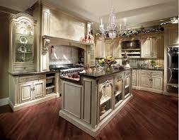 Black Modern Stove Country Cottage Kitchen Decor L Shaped White Wooden Cabinets Wood Cabinet Cool Blue Tiles Backsplash Bar Stool