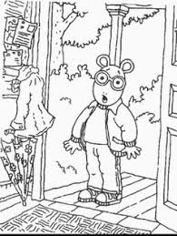 Arthur And Friends 18 Is A Coloring Page From BookLet Your Children Express Their Imagination When They Color The