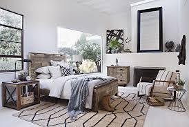 atticus queen platform bed living spaces