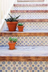Antique Terra Cotta Tile Featured On The Diy Network Show I by Best 25 Tile On Stairs Ideas On Pinterest Wallpaper Stairs