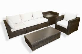 Outdoor Deep Seating Sectional Sofa by Melbourne Deep Seating 6pc Sofa U0026 Club Chair Tortugaoutdoor Com