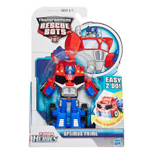 100 Rescue Bots Fire Truck Transformers Playskool Heroes Salvage Figure Toys