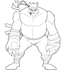 Ninja Turtles Coloring Pages Michelangelo Turtle Villains Games Online For Toddlers Full Size