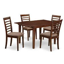 MILA Mahogany 5-piece Dinette Dining Table Set