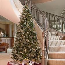 9 Foot Pre Lit Christmas Tree Model Skinny Amazing