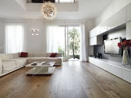 modernes wohnzimmer mit holzboden 7450281