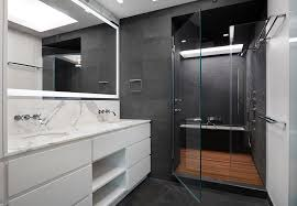 84 inch bathroom vanity cabinets with modern lighted mirror