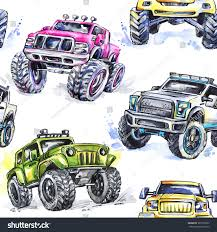 Watercolor Seamless Pattern Cartoon Monster Trucks Stock ... Cartoon Monster Trucks Kids Truck Videos For Oddbods Furious Fuse Episode Giant Play Doh Stock Vector Art More Images Of 4x4 Dan Halloween Night Car Cartoons Available Eps10 Separated By Groups And Garbage Fire Racing Photo Free Trial Bigstock Driving Driver Children Dinosaur Haunted House Home Facebook Royalty Image Getty