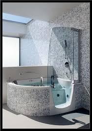 Badewanne Mit Dusche Begehbare Badewanne Mit Dusche Igamefr Com