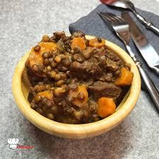 cuisine des lentilles boeuf lentilles carottes recette cookeo mimi cuisine