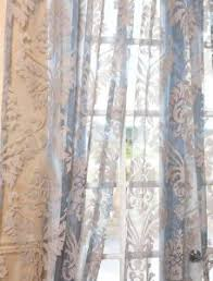 sheer teal patterned curtains sheer patterned curtains patterned