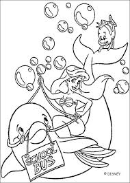The Dolphin Coloring Page