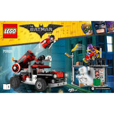 The Lego Group Harley Quinn Cannonball Attack - 70921 - Toys & Games ...