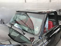 1967-72 Chevy C-10 D.O.T. Flush Mounted Glass Windshield And Back Glass.