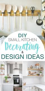 Kitchen Decor And Design On Diy Small Kitchen Decorating Design Ideas Ohmeohmy