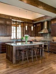 Large Rustic Kitchen Photos