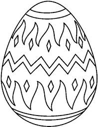 Easter Egg Coloring Pages Pdf A