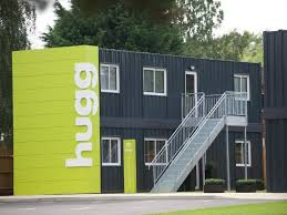 100 Container Box Houses First Popup Box Homes Installed In Southampton