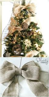 Rustic Christmas Tree Ornaments Topper Decorations Ideas