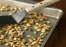 Toasting Pumpkin Seeds In The Oven by How To Roast Pumpkin Seeds Allrecipes