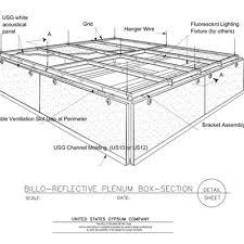 usg design studio acoustical ceiling assembly download details