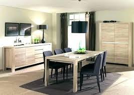 cuisine blanche et table de cuisine blanche table salle a manger blanc et bois