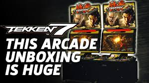 Xtension Arcade Cabinet Uk by Tekken 7 Arcade Cabinet Unboxing Youtube