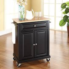 Amazon.com: Crosley Furniture Cuisine Kitchen Island With ... Best Of Metal Kitchen Island Cart Taste Amazoncom Choice Products Natural Wood Mobile Designer Utility With Stainless Steel Carts Islands Tables The Home Depot Styles Crteacart 4 Door 920010xx Hcom 45 Trolley Island Design Beautiful Eastfield With Top Cottage Pinterest
