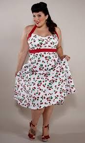 Plus Size 50s Dresses