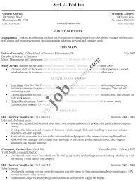 Sample Resumes For It Jobs Job Resume Australia Professional Format Template VoZmiTut 60
