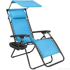 2019 Folding Zero Gravity Lounge Chair W/ Canopy & Magazine Cup Holder  Light Blue From Newlife2016dh, $35.18   DHgate.Com Gymax Folding Recliner Zero Gravity Lounge Chair W Shade Genuine Hover To Zoom Telescope Casual Beach Alinum Us 1026 32 Offoutdoor Sun Patio Lounge Chair Cover Fniture Dust Waterproof Pool Outdoor Canopy Rain Gear Pouchin Sails Nets Chaise With Gardeon With Beige Fniture Sunnydaze Double Rocking And 21 Best Chairs 2019 The Strategist New York Magazine Recling Belleze 2pack W Top Cup Holder Gray Decor 2piece Steel Floating Cushions