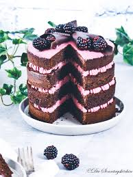 brombeeren schokoladen torte