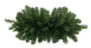 Artificial Christmas Trees Unlit Canada by 32 Two Tone Canadian Pine Artificial Christmas Door Swag Unlit