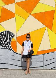 Deep Ellum Wall Murals by Los Angeles Mural And Colorful Wall Guide Yellow Black Los