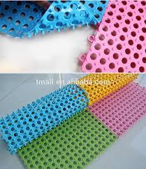 pvc eco friendly interlocking floor tile soft plastic flooring