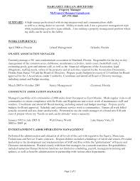 Maintenance Resume Sample Job Skills For Property Manager And Cover Letter 11