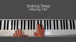 sinking piano easy sinking hillsong free piano tutorial and chords