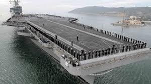 plus gros porte avion du monde l uss forrestal le plus grand porte avions américain