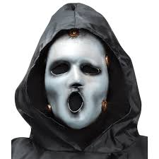 Halloween Voice Changer by Mtv Scream Mask For Adults Buycostumes Com