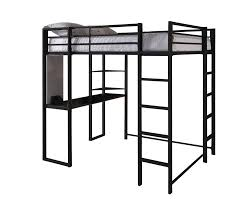 Ikea Loft Bed With Desk Dimensions by Dhp Furniture Abode Full Size Loft Bed