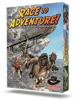Race to Adventure Board Game