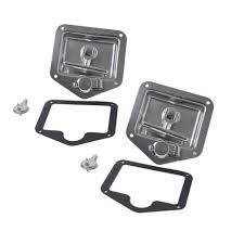 100 Truck Tool Box Locks Folding T Handle Lock Stainless Steel Flush Mount Lock