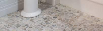 Sliced Pebble Tiles Uk by Bathroom Pebble Mosaic Tile Bathroom Excellent On Inside Modern In