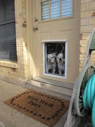 Doggie Doors For Sliding Patio Doors by Sliding Patio Door With Dog Door Built In Barn And Patio Doors