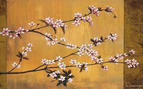Japanese Cherry Blossom Bathroom Set by Japanese Painting Cherry Blossoms Wallpapers Paintings Art